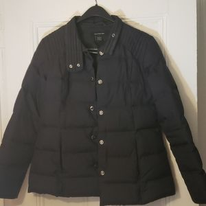 Calvin Klein Black down puffer jacket